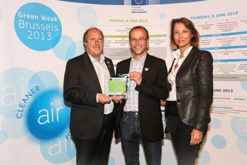 EU Auszeichnung für die Obere Drau 2012