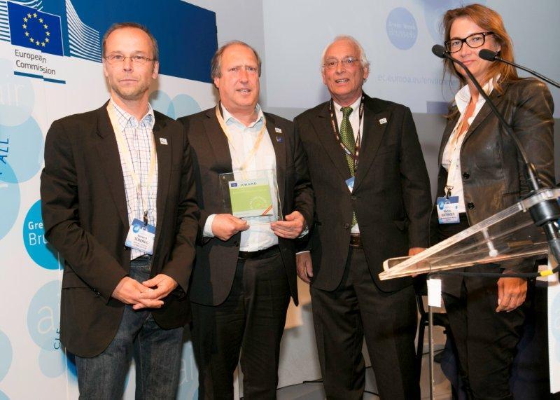EU-Auszeichnung Best of the best LIFE 2012