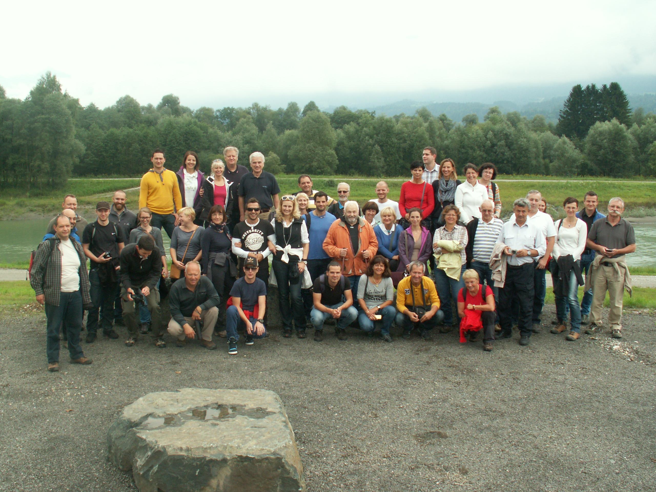Exkursionsteilnehmer (Foto: Lidija Globevnik)